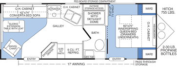 c trailer floor plans citation travel trailer floor plans and specifications cers
