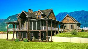Floor Plans With Wrap Around Porch by Rustic House Plans Our 10 Most Popular Rustic Home Plans