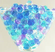2 packs glam decor water beads gel balls bio crystal soil wedding