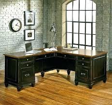 Kathy Ireland L Shaped Desk Kathy Ireland Office Desk Office L Desk And Bookcase In Suede Oak