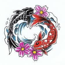 koi fish yin yang design beautiful jpg 600 598 yin yang