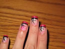 nail designs zebra print pink finallykiss art brushes posted