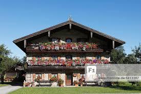 geranien balkon bayern brannenburg deutschland europa inntal oberbayern