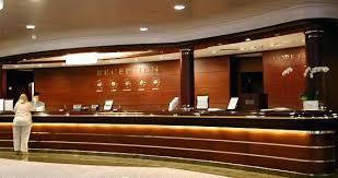 Front Desk Reception Front Office Desk Of 5 Hotel Onsingularity
