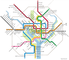 Metro Transit Map by Conceptual Wmata Map By Peter Dovak Expanded Dc Metro System With