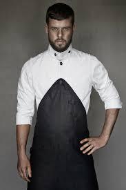 Designer Kitchen Aprons by Designer Chefjacket Men U0027s Rebel In Black Denim Http Www