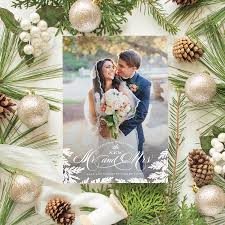 married christmas cards newlywed christmas cards 2017 collection banter and charm