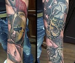50 grenade tattoo designs for men explosive ink ideas