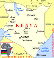 geographical map of kenya mapping and geographical world map and flag of kenya