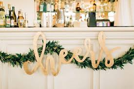 wedding backdrop sign up only large cheers laser cut name sign one 42 x 22