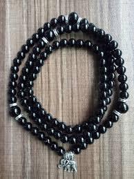 onyx bracelet images 108 mala beads round beads black onyx bracelet 4 laps bracelets jpg