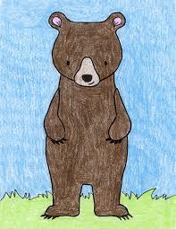 standing bear art projects kids