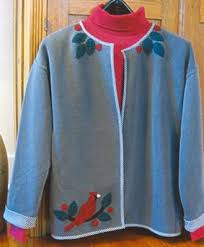 29 best appliqué sweatshirt jackets images on pinterest