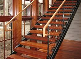 cable stair railing kits unique shaped decoration fence modern