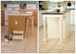 kitchen island makeover get inspired kitchen mini makeover ideas how to nest for less