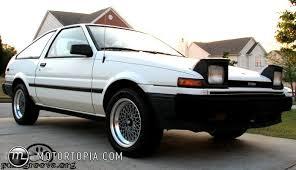 toyota 86 corolla 1986 toyota corolla sr5 id 5837