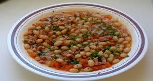 cuisiner les haricots blancs frais réussir les haricots blancs frais tomate lardons bouillon de légumes