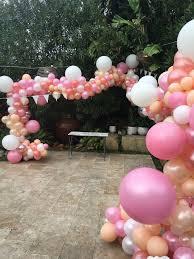 inflated balloons delivered balloons delivered inflated organic balloon garland beaches