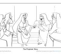 birth of jesus coloring page christmas coloring page prophets foretold the birth of a king