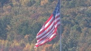 Flag Flying Rules World U0027s Largest Flying American Flag Is In Gastonia Wsoc Tv