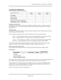 business plans page 15 of 26 16 u201ccompany a u201d limited u2013 business