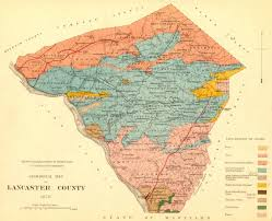 map of lancaster pa geological map of lancaster county pa mapscape