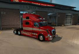 volvo headquarters volvo vnl 780 red fantasy for vnl truck shop mod euro truck