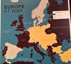 World War One Map by World War One At Te Papa Laurafitzpatrickblog