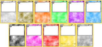 pokemon blank card templates stage 2 by levelinfinitum on deviantart