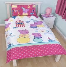cartoon character single duvet set quilt cover kids childrens
