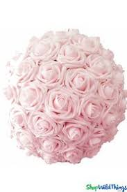 Flower Ball Kissing Balls Rose Balls Pomander Wedding Balls Shopwildthings Com