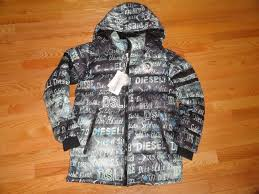sel youth boys down winter jacket parka coat hooded xl 18 20 nwt