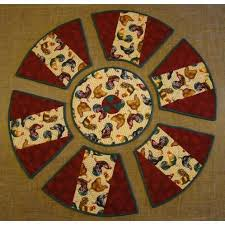 Round Table Placemat Setting On Handmade Australia Home Sweet Home