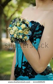 Turquoise Corsage Prom Corsage Stock Images Royalty Free Images U0026 Vectors