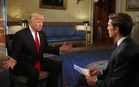 What Desk Is Trump Using by Donald Trump U0027s First Interview As President Transcript Fortune