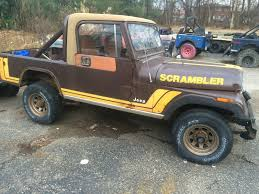 jeep scrambler 1982 jeep cj8 scrambler barn find for sale in ashland kentucky united