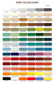 gorgeous ppg auto paint color chart with automotive paint colors