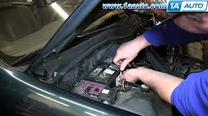 battery for 2001 honda civic how to install replace dead battery 1992 2000 honda civic