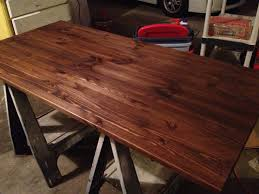 staining a table top ikea desk tutorial all things new interiors