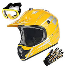 motocross helmet sizing amazon com youth motocross helmet mx bmx atv bike kids storm yellow