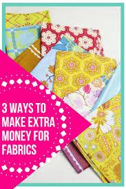 3 ways to make money for fabrics the little mushroom cap