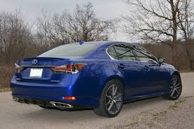 blue lexus 2017 lexus gs 350 f review gtspirit
