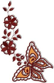 advanced embroidery designs cutwork butterfly and flower set