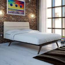 Addison Bedroom Furniture by Furniture Of America Stewart I Wooden Flat Panel Platform Bed