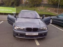 bmw 318ci 2001 bmw 318ci e46 coupe 2001 model steel blue replica m3 alloys