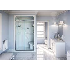 Mirolin Shower Doors Mirolin Sh4ls Rs 4 Shower Stall With Seat White Home