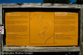 Algonquin Map Hiking The Western Uplands Backpacking Trail In Algonquin