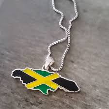 shaped pendant necklace images Jamaica necklace lacquer pendant global citizens jewelry jpg