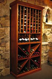 wine storage cabinet brown wooden wine storage racksdark round