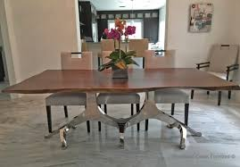 Metal Base For Trestle Table Solid Wood Dining Table Tops by Contemporary Dining Tables Rustic Dining Tables Solid Wood Tables